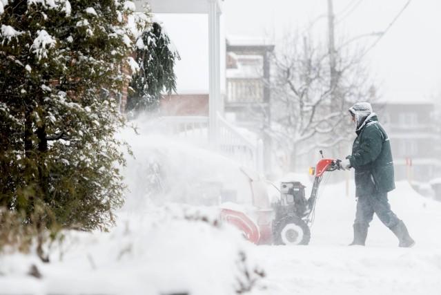 L'Estrie aura goûté à la tempête hivernale attendue... (Spectre Média, Frédéric Côté)