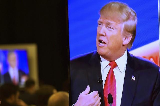Le milliardaire Donald Trump, largement en tête dans la course à l'investiture... (Photo Reuters)