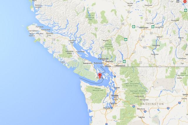 L'épicentre du séisme se trouvait à quelque 20... (Image Google Maps)