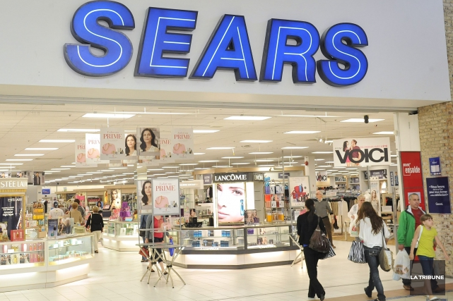 La fermeture du magasin Sears à Victoriaville affectera... (La Tribune, archives)