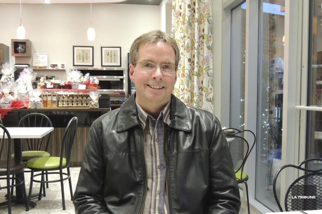 Pierre Latulippe, conseiller municipal de Lac-Mégantic... (La Tribune, Ronald Martel)