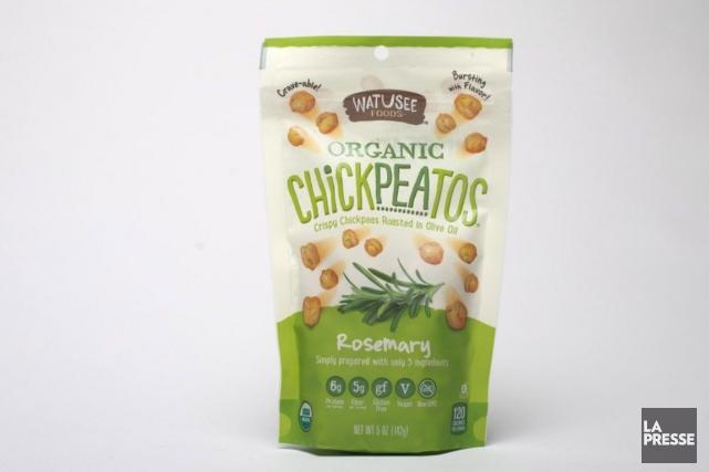 Ce que dit Watusee Foods : «Ils craquent comme un pretzel, se mangent comme des... (Photo Olivier Jean, La Presse)