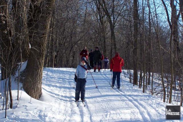 Le dimanche 12 février, j'allais faire du ski de fond à Duchesnay en autobus... (Archives La Presse)