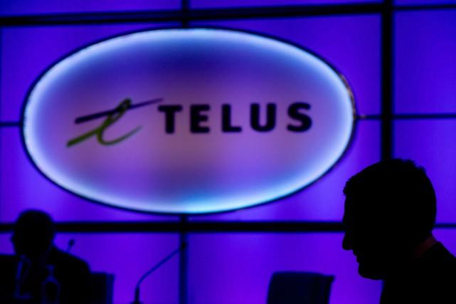 Telus(T.T)est devenue la deuxième entreprise canadienne de... (PHOTO ARCHIVES LA PRESSE CANADIENNE)