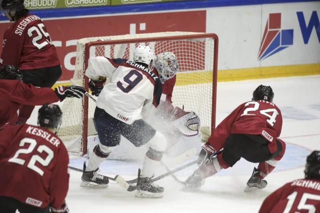 Avec cette victoire, les Américains dépassentle Canada au... (Photo Markku Ulander, Reuters)