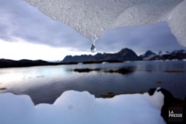 Mercure au-dessus de zéro au pôle Nord, tempête en mer du Nord, fortes chaleurs... (Photo d'archives, AP)