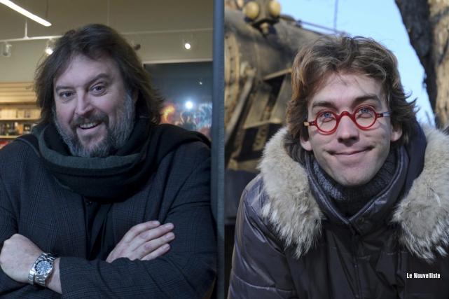 Bryan Perro et Fred Pellerin multiplient les projets,... (Le Nouvelliste)