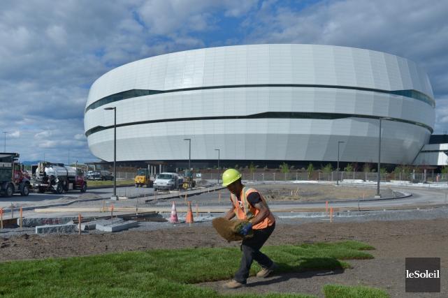 CHRONIQUE / L'ouverture du nouvel amphithéâtre fut l'événement de l'année 2015... (Photothèque Le Soleil, Jean-Marie Villeneuve)
