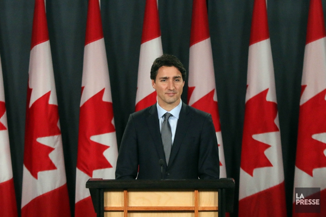 Le premier ministre du Canada, Justin Trudeau... (Archives La Presse)
