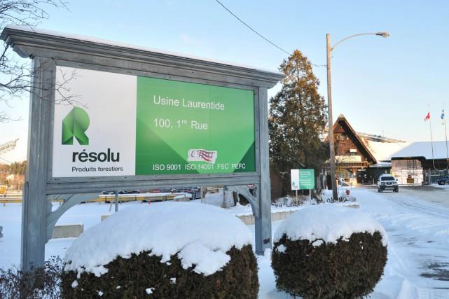 Produits forestiers Résolu (TSX:RFP) a annoncé, mercredi, le dépôt d'un avis... (Émilie O'Connor)