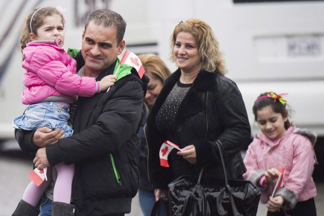 On estime que 6239 Syriens seront entrés au... (La Presse Canadienne)