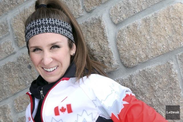La patineuse de vitesse, Ivanie Blondin... (Etienne Ranger, Archives LeDroit)