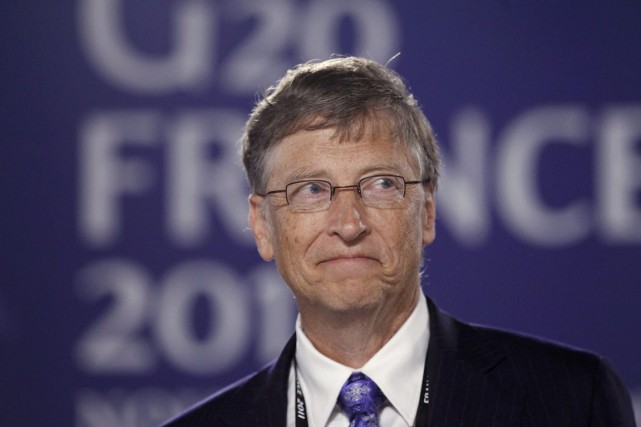 Bill Gates... (Photo: KEVIN LAMARQUE, Reuters)
