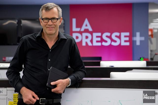 Guy Crevier, président et éditeur deLa Presse... (PHOTO David Boily, Archives La Presse)