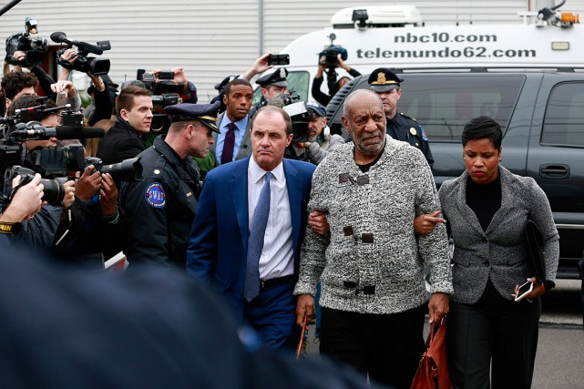 Bill Cosby, 78 ans, a été inculpé mercredi... (Photo David Swanson/The Philadelphia Inquirer via AP)