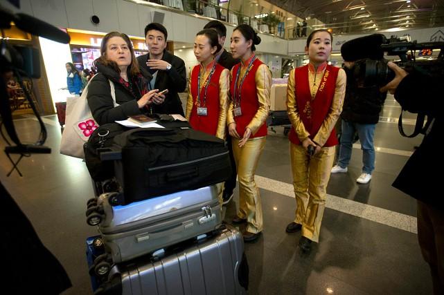 La correspondante, en poste à Pékin depuis six... (Photo Mark Schiefelbein, AP)