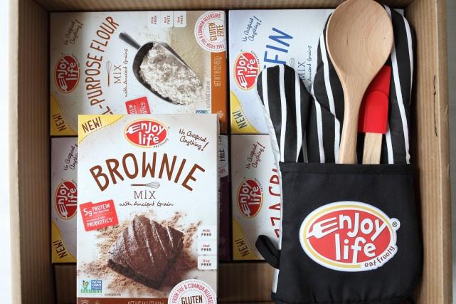 Peu importe le moment de l'année, le simple fait de partager une bonne bouffe... (Enjoy Life Foods)