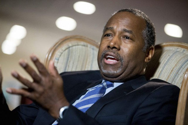 Dr. Carson a affiché à plusieurs reprises des... (Photo AP)