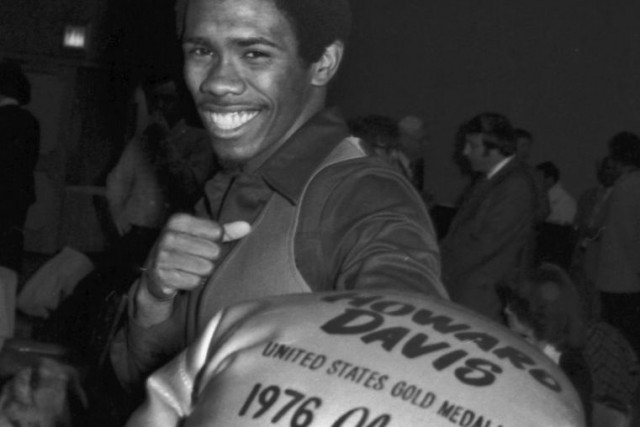 Howard Davis, en 1976.... (PHOTO ARCHIVES AP)
