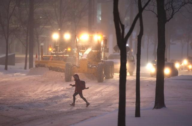 «À Montréal seulement, déblayer une tempête de neige... (Photo Martin Chamberland, La Presse)