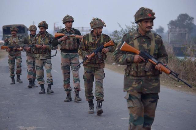 L'attaque sur la base aériennne de Pathankotsurvient une... (PHOTO NARINDER NANU, AGENCE FRANCE-PRESSE)