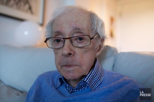 Marcel Barbeau, chez lui en octobre 2015... (Archives, La Presse)