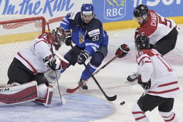 Les Canadiens ont été très indisciplinés dans ce... (Photo Markku Ulander, AP)