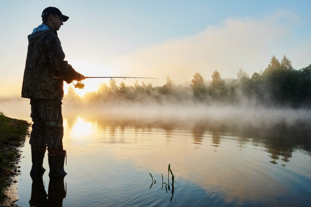 CHRONIQUE CHASSE & PÊCHE / Je n'ai pas consulté le calendrier du pêcheur, mais... (Photo 123RF)