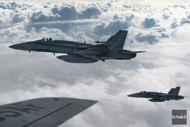 Le Canada fournit à la coalition internationale dirigée... (Photothèque Le Soleil, PC/Aviation royale canadienne)