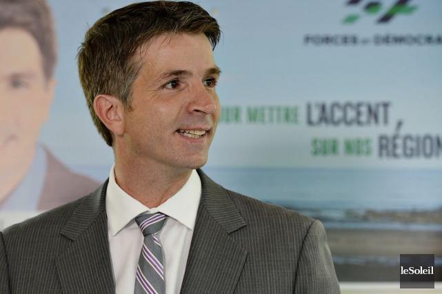 Celui qui a représenté la circonscription Haute-Gaspésie-La Mitis-Matane-Matapédia... (Photothèque Le Soleil, Patrice Laroche)