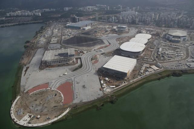 Le parc olympique de Rio... (PHOTO LEO CORREA, ARCHIVES AP)