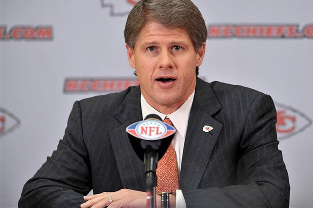 Clark Hunt... (Photo Denny Medley, USA TODAY Sports)