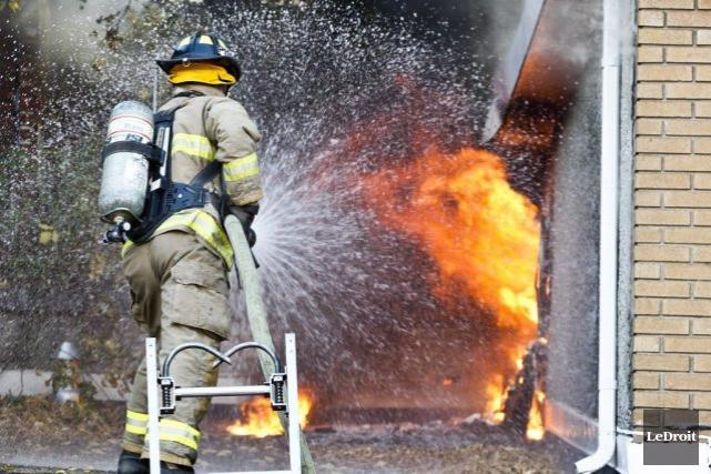 Les deux incendies mineurs se sont déclarés à... (Patrick Woodbury, archives LeDroit)