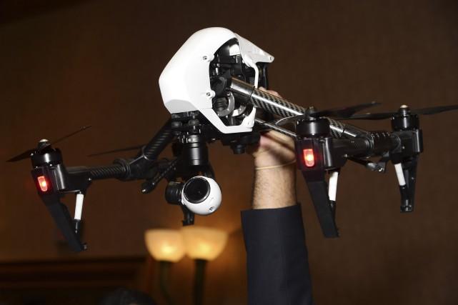L'administration Obama veut encourager le développement des drones... (AFP, Robyn Beck)