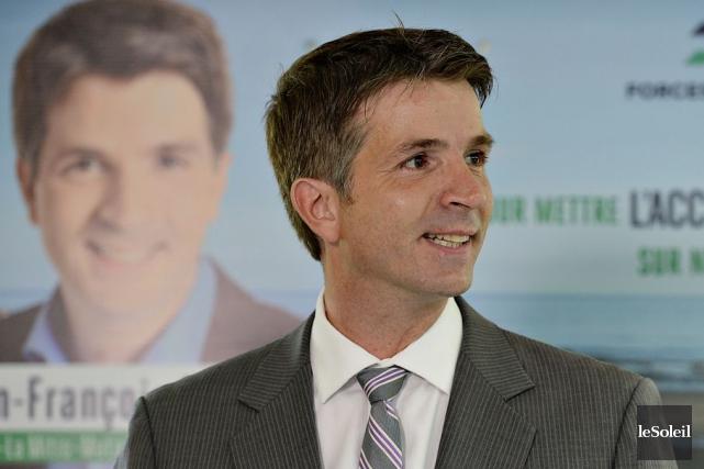 Jean-François Fortin,qui a représenté la circonscription Haute-Gaspésie-La Mitis-Matane-Matapédia... (Archives, Le Soleil)