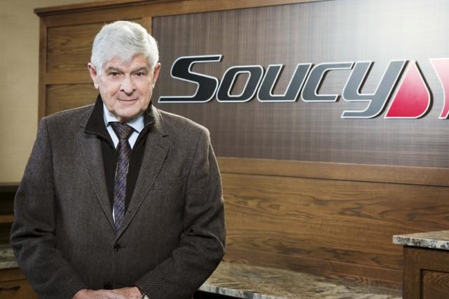 Le fondateur du Groupe Soucy, Gilles Soucy... (Fournie)