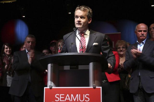 Le nouveau député libéral et ancien journaliste Seamus... (Archives La Presse Canadienne)