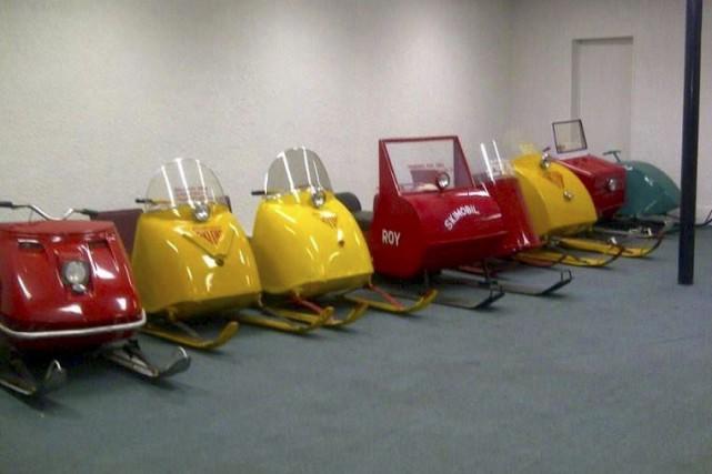 Le musée de la motoneige de Murdochville expose... (TIRÉE DE FACEBOOK)