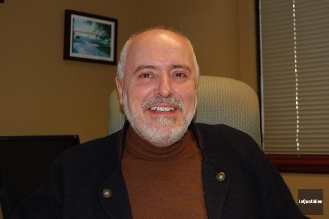 Le maire Gilles Potvin espère que l'année 2016... (Archives Le Quotidien)