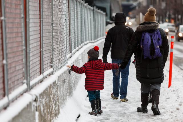 Selon les météorologues, l'hiver 2015 s'annonce plus clément... (PHOTO ULYSSE LEMERISE, COLLABORATION SPÉCIALE)