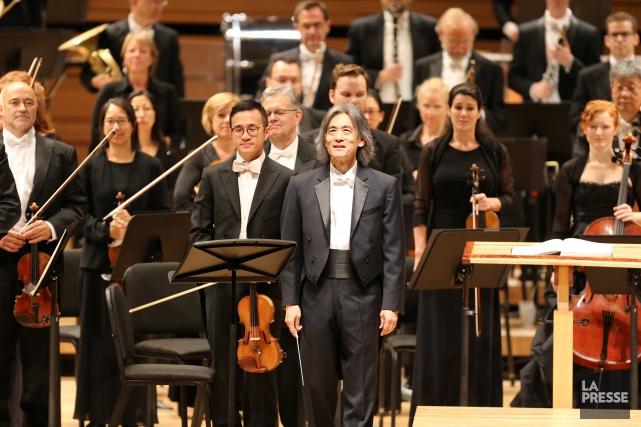 L'Orchestre symphonique de Montréal et son chef d'orchestre,... (PHOTO ANDRÉ PICHETTE, ARCHIVES LA PRESSE)