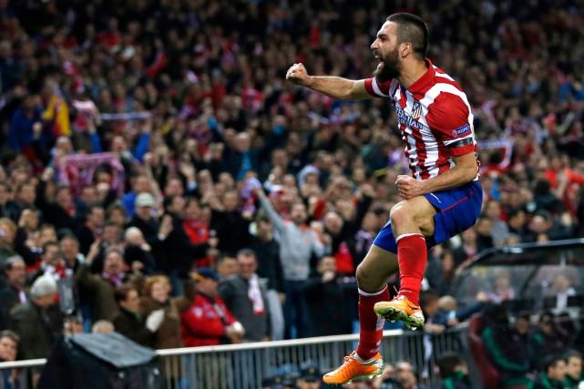 Arda Turan a ététransféré de l'Atletico Madrid pour... (PHOTO SERGIO PEREZ, ARCHIVES REUTERS)