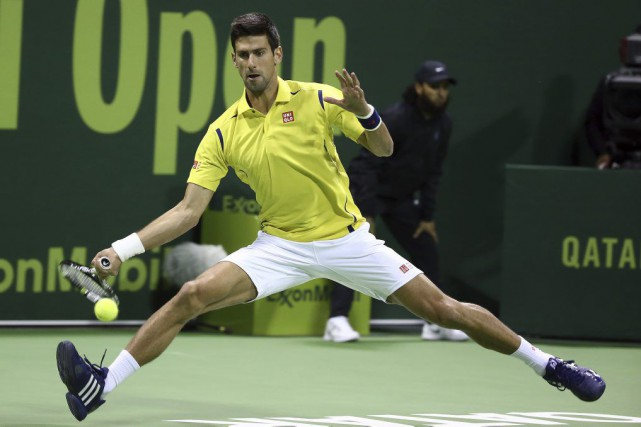 Novak Djokovic... (PHOTO KARIM JAAFAR, AFP)