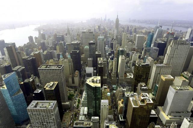Les meurtres et les viols ont augmenté en 2015 à New York, tout comme la... (Photo AFP)