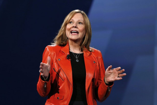 Mary Barra... (Photo Paul Sancya, archives AP)
