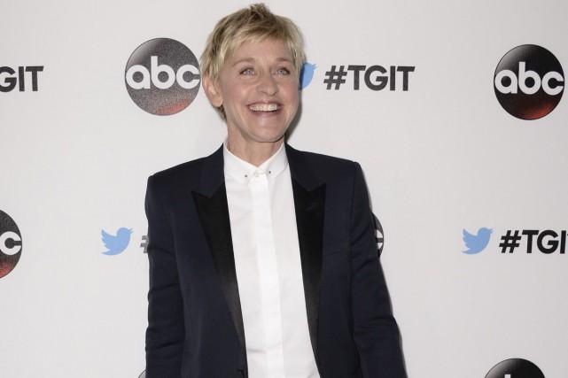 Ellen DeGeneres va recevoir un prix humanitaire et l'Hôpital de recherche pour... (Archives, Associated Press)