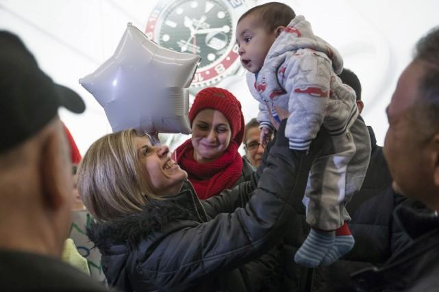 La famille Kurdi a été réunie à l'aéroport... (La Presse Canadienne)