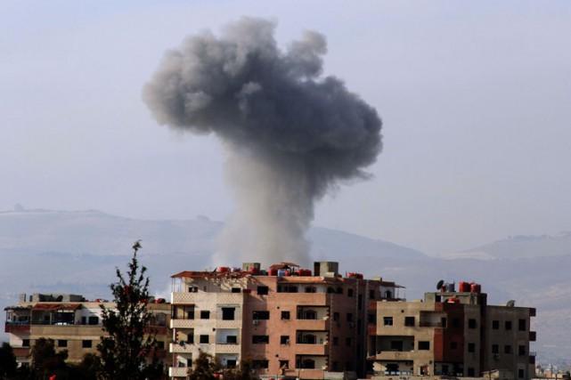 Après un massacre à l'arme chimique près de... (ARCHIVES AFP)