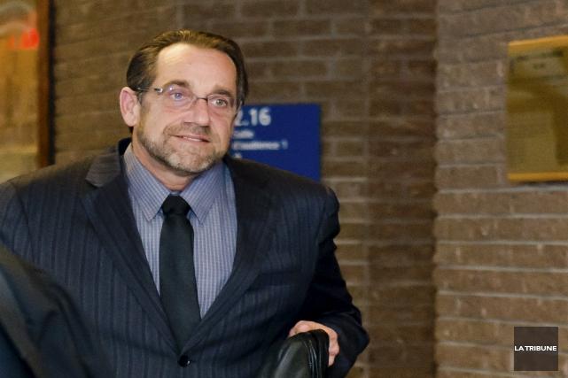 L'agent Jean-Pierre Rivard a été acquitté sur un... (Archives, La Tribune)