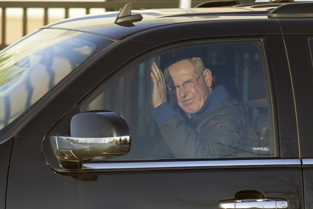 Tom Coughlin a remporté deux titres du Super... (Photo Associated Press)